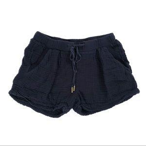 Three Dots Emma drawstring casual shorts
